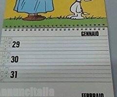 SNOOPY calendarietto da tavolo