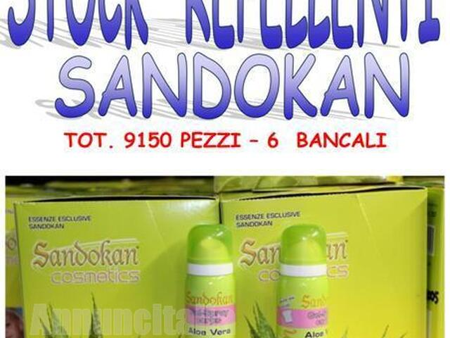 Stock repellenti naturali Sandokan 9150 pezzi - 1/10