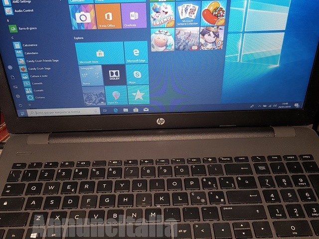 notebook 255g6 in garanzia hp - 1/2