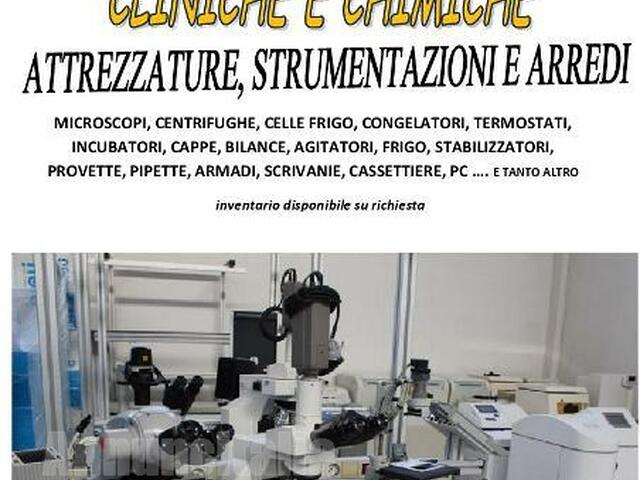 Vendita fallimentare laboratorio analisi - 1/10