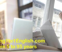 Impara l'inglese online - Teaching 1 to 1 English