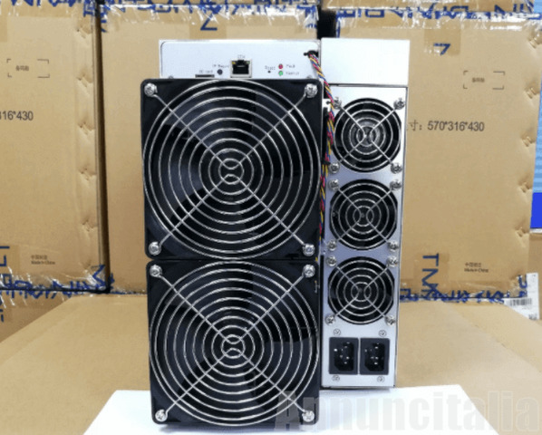 Asic Btc miner AntMiner S19 Pro 110Th/s SHA-256  fast shipping - 3/3